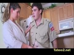 Devon James boyscout try-out