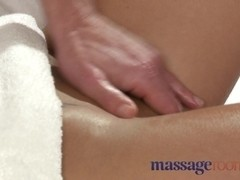 Girls with big boobs are fucked hard on the massage table