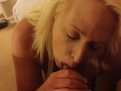 Mature wife making a cock very wet