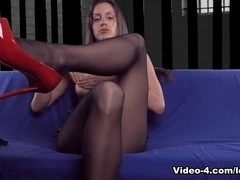 Dungeon FemDom Humiliation Breasts Feet Worship