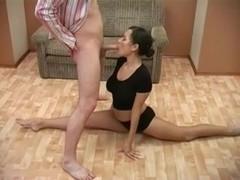 Lesya Russian gymnast