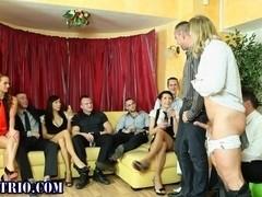 Bi party sluts and studs suck