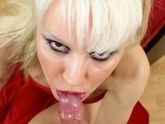 Elizabeth Maciel blows cock and gets assfucked
