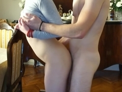 I was dancing on his cock so he must creampie my pussy