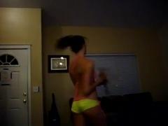 Fabulous twerking web camera dance episode