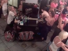 Strip club dressing room camera