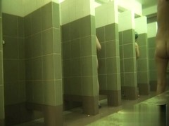 Hidden cameras in public pool showers 380
