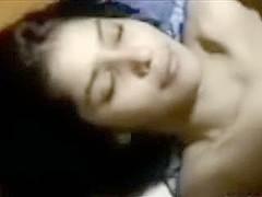 Nice-Looking Namrata cum on face