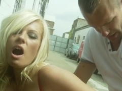 Incredible pornstar in hottest big tits, outdoor adult clip