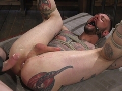 Trenton Ducati,Teddy Bryce in Ripped God Teddy Bryce Fucked and Beaten in Rope Bondage by Hot Stud.