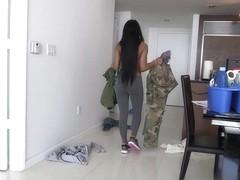 Aaliyah Grey in Hot new maid Aaliyah's full service Video
