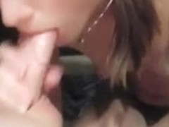 Best Ever POV Jizz Eating Blow Job