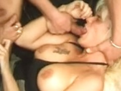 French casting 98 blonde anal threesome domination hardcore