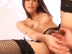 Best Japanese whore Miyu Misaki in Incredible Foot Fetish, Big Tits JAV scene