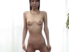 Best Japanese chick in Amazing Striptease, Solo Female JAV clip