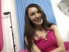 Stacy is a teen brunette who's screaming for a hardcore fucking in every position!