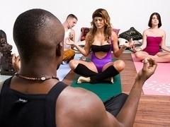 A Sexy Yoga Class