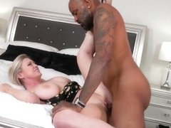 Black man is having amazing sex with Dee Williams, in the middle of a nice day
