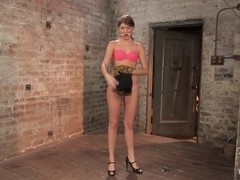 Beautiful Cassandra Nix Bound and Humiliated