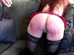 Bliss Paddled Purple - Caned for Disobedience