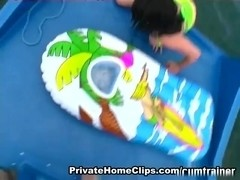 CumTrainer Clip: Splish Splash