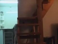 Spy Kitty mounts cute plumber