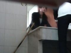 Beautiful asian teen on hidden pis cam