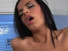 Angelika Black is fucking after a good massage
