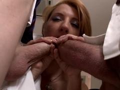 Amazing pornstars Chris Diamond, Leona Green, Lara De Santis in Exotic Big Tits, DP porn movie