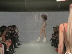 Nude Pam Hogg London Fashion Week CHARLIE.mp4