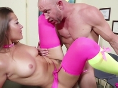 Amazing pornstars Dani Daniels, Will Powers in Incredible Small Tits, Stockings sex video