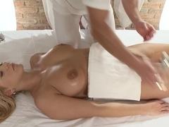 Horny pornstars George, Lia Rav in Exotic Blonde, Medium Tits adult video