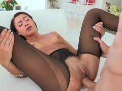 Incredible pornstars Marina Angel, Chris Strokes, Naughty Girl in Best Stockings, Latina porn clip