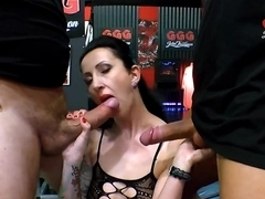 Amazing pornstar Stella Star in Exotic Brunette, Bukkake sex scene
