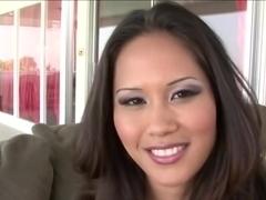 Crazy pornstar Jessica Bangkok in horny small tits, facial porn clip