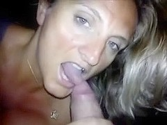 Floozy wife engulfing and ass drilling her paramour for hubby