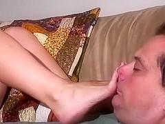 Missy May foot worship
