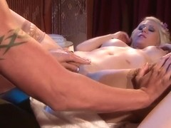 Jazy Berlin and Jewels Jade play with strap on
