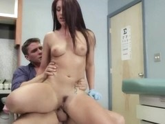 Hardcore anal fuck in the sperm bank