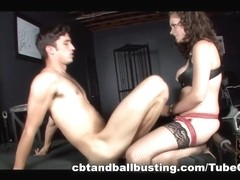 CBTandBallBusting Video: Starli's Anal Whore