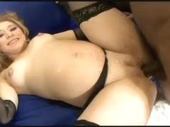 Kayla Marie Preggo Take Up With The Tongue A Gazoo In Dark Crack Junkie