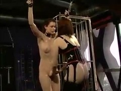 Latex dominant-bitch and yielding hotty