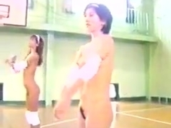 Nudist Japanese Basketball game