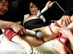 Horny Japanese model Anno Kiriya in Best JAV uncensored Stockings scene