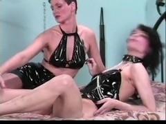 Lesbian Bondage Licking