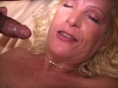 aged golden-haired wife bbc gang fuck