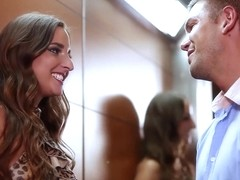 Amirah Adara - Strangers On An Elevator in HD