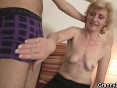 Recent ramrod for sexy older woman