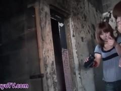 Japanese lesbo pisses