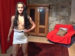Gypsy teen does wild lapdance show